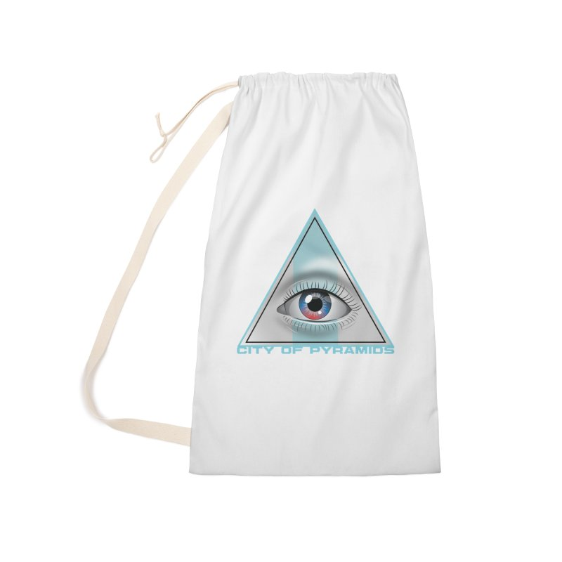 Eyeconic Blank Accessories Bag by City of Pyramids's Artist Shop
