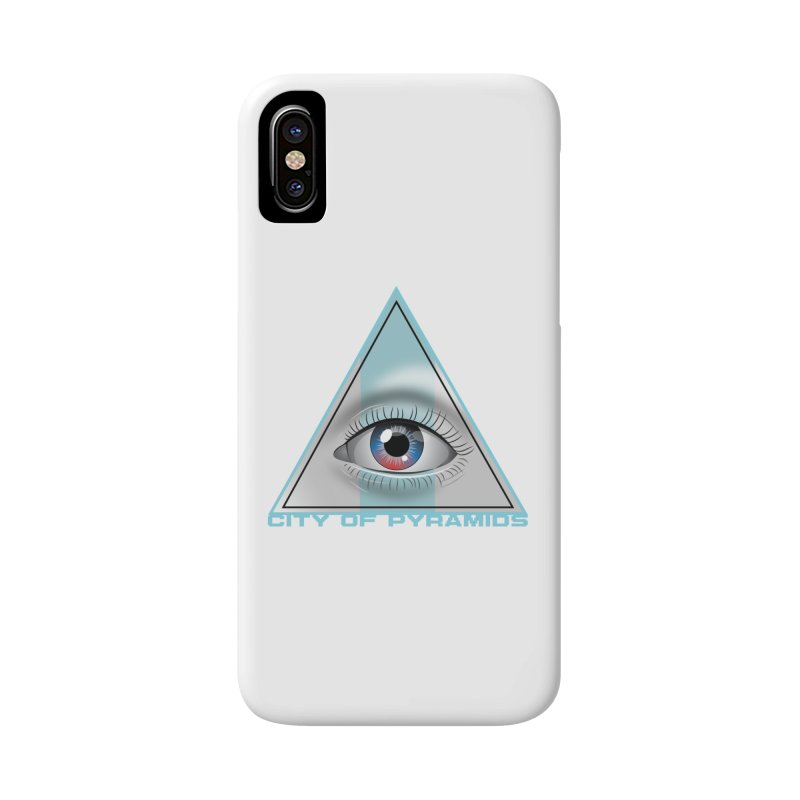 Eyeconic Blank Accessories Phone Case by City of Pyramids's Artist Shop