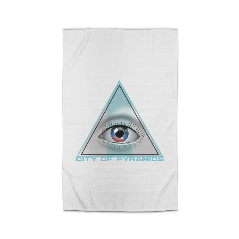 Eyeconic Blank Home Rug by City of Pyramids's Artist Shop