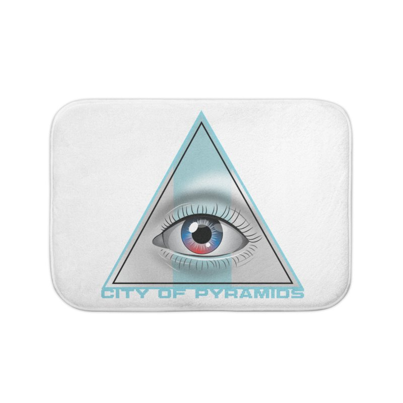 Eyeconic Blank Home Bath Mat by City of Pyramids's Artist Shop