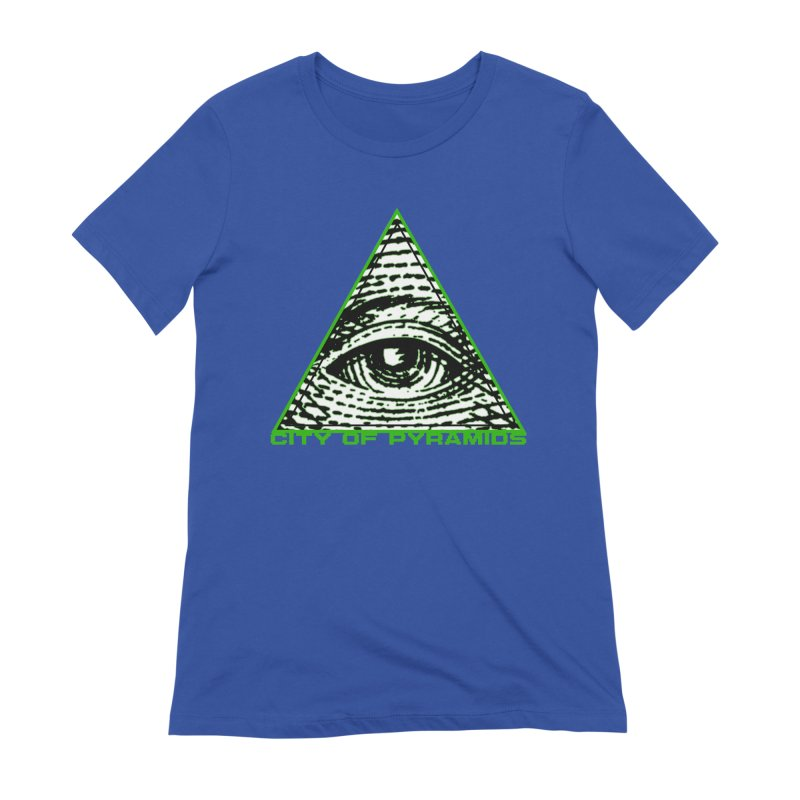 Eyeconic All Seeing Eye Women's Extra Soft T-Shirt by City of Pyramids's Artist Shop