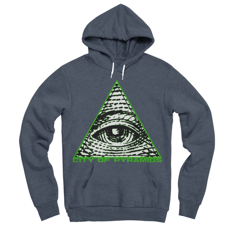 Eyeconic All Seeing Eye Women's Sponge Fleece Pullover Hoody by City of Pyramids's Artist Shop