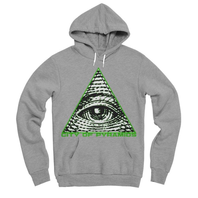 Eyeconic All Seeing Eye Women's Sponge Fleece Pullover Hoody by City of Pyramids's Artist Shop