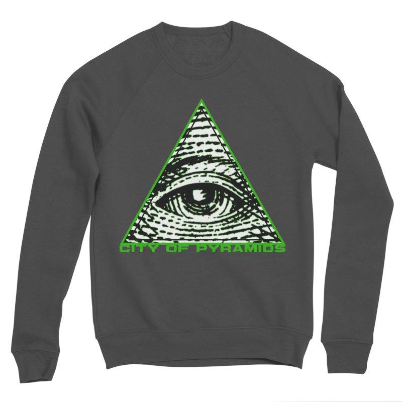Eyeconic All Seeing Eye Women's Sponge Fleece Sweatshirt by City of Pyramids's Artist Shop