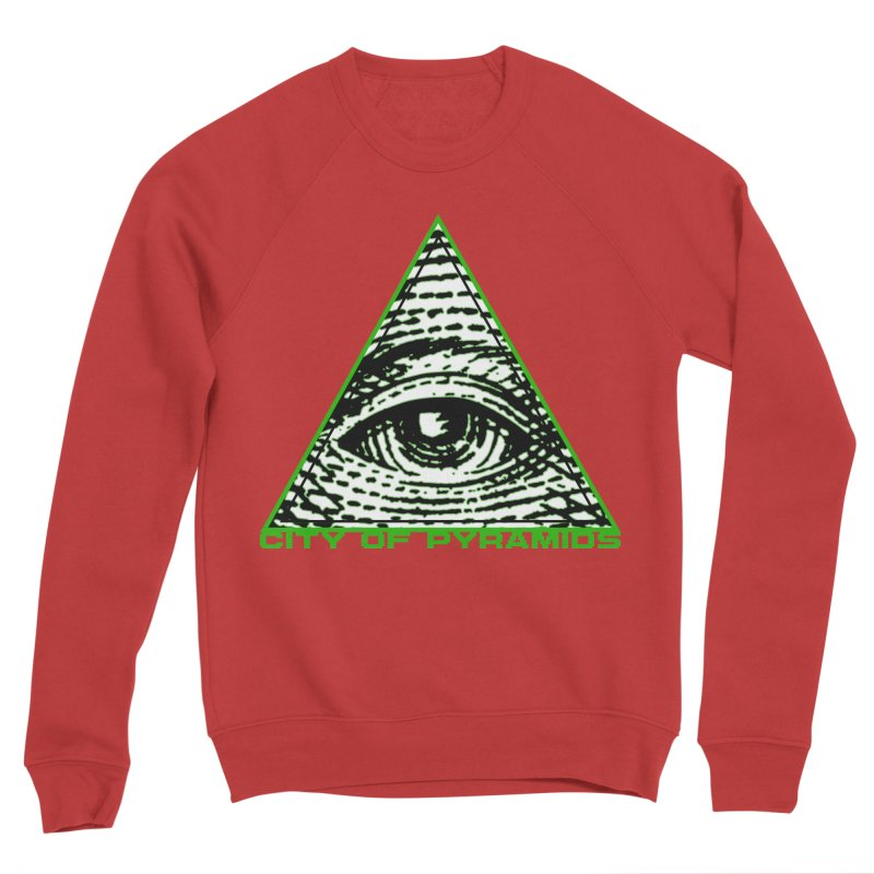 Eyeconic All Seeing Eye Women's Sponge Fleece Sweatshirt by City of Pyramids's Artist Shop