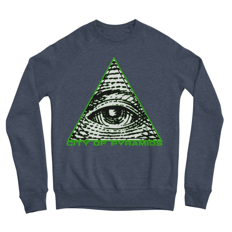 Eyeconic All Seeing Eye Men's Sponge Fleece Sweatshirt by City of Pyramids's Artist Shop