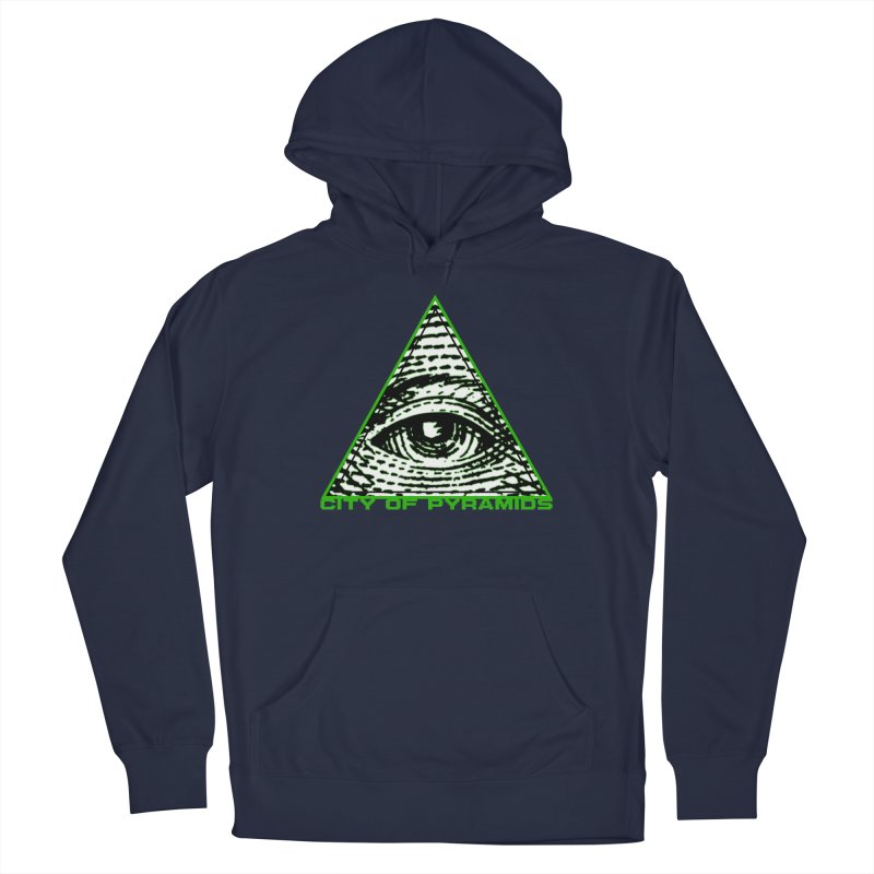 Eyeconic All Seeing Eye Men's Pullover Hoody by City of Pyramids's Artist Shop