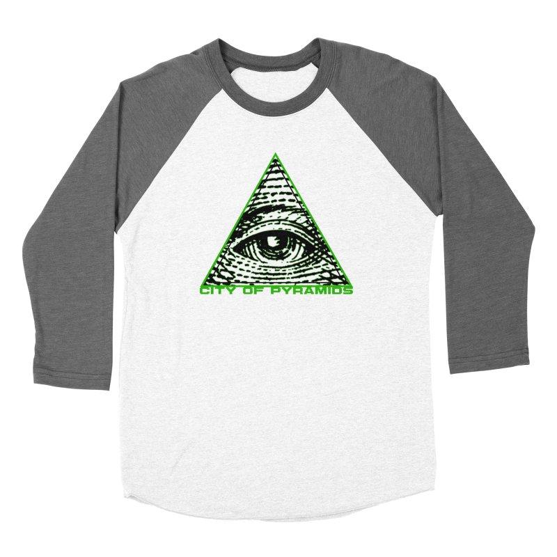 Eyeconic All Seeing Eye Men's Longsleeve T-Shirt by City of Pyramids's Artist Shop