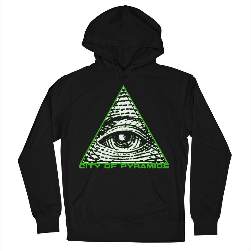 Eyeconic All Seeing Eye Women's French Terry Pullover Hoody by City of Pyramids's Artist Shop