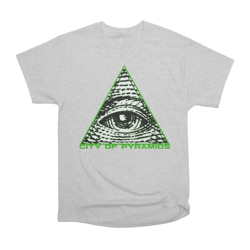 Eyeconic All Seeing Eye Men's Heavyweight T-Shirt by City of Pyramids's Artist Shop