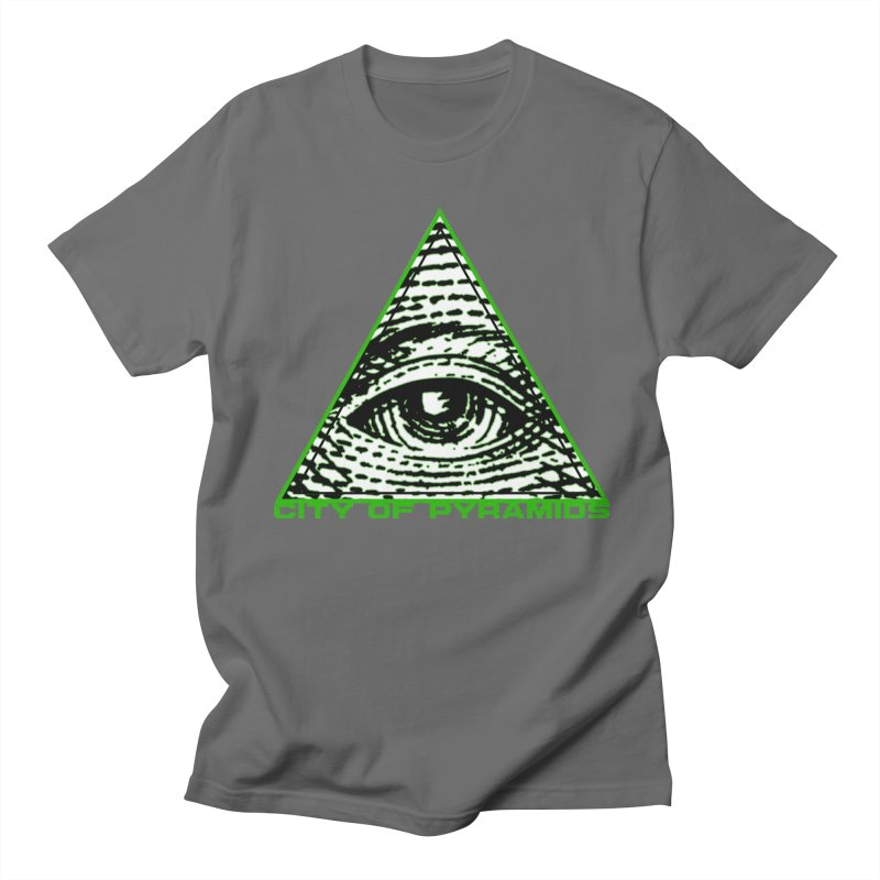 Eyeconic All Seeing Eye Men's T-Shirt by City of Pyramids's Artist Shop