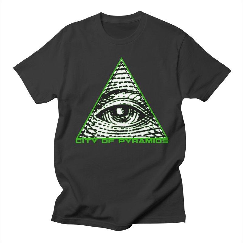 Eyeconic All Seeing Eye Women's Regular Unisex T-Shirt by City of Pyramids's Artist Shop