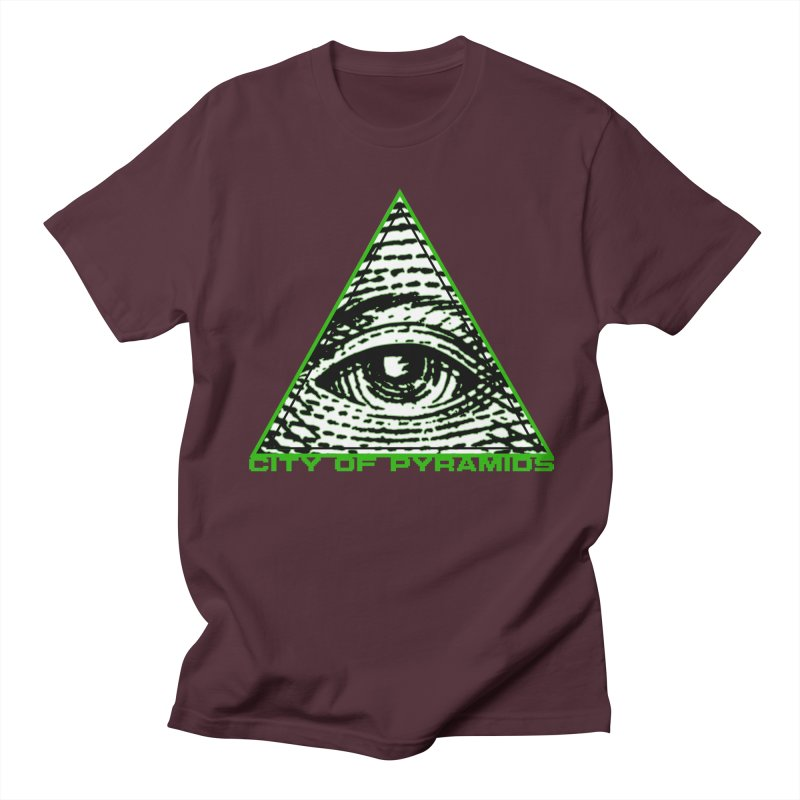 Eyeconic All Seeing Eye Women's Regular Unisex T-Shirt by City of Pyramids's Artist Shop