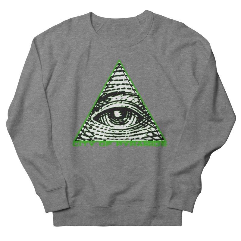 Eyeconic All Seeing Eye Men's Sweatshirt by City of Pyramids's Artist Shop