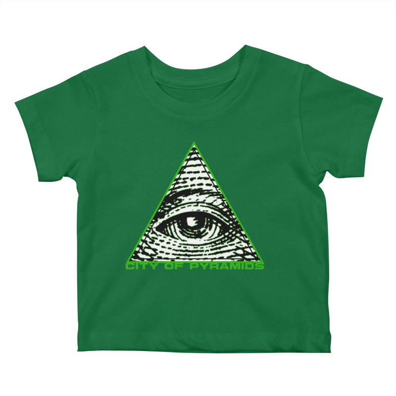 Eyeconic All Seeing Eye Kids Baby T-Shirt by City of Pyramids's Artist Shop