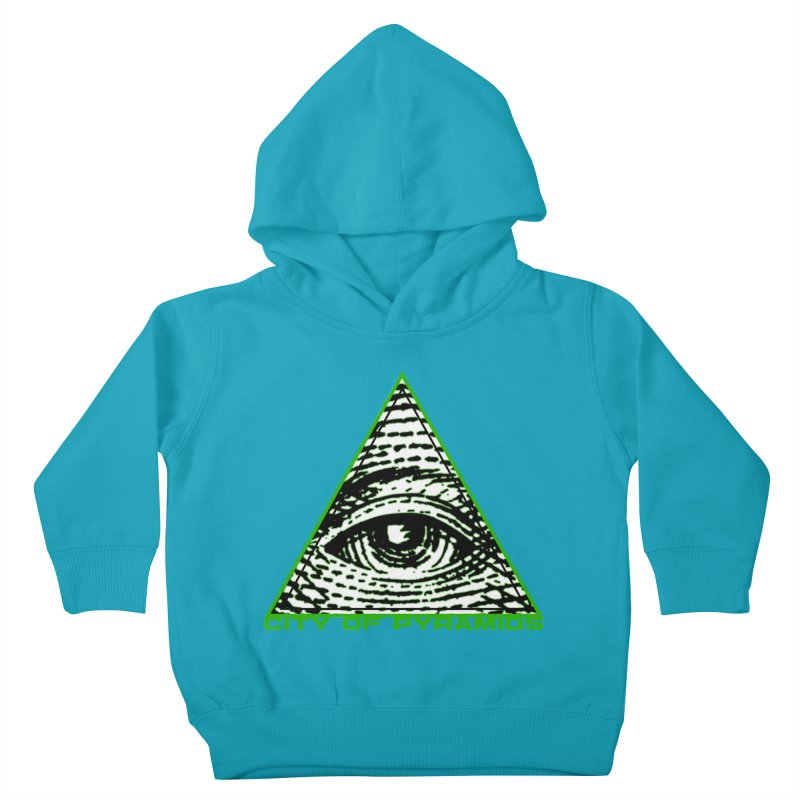 Eyeconic All Seeing Eye Kids Toddler Pullover Hoody by City of Pyramids's Artist Shop