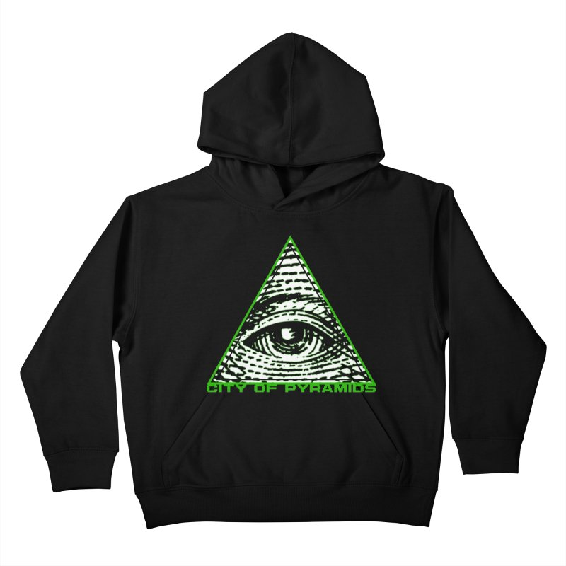 Eyeconic All Seeing Eye Kids Pullover Hoody by City of Pyramids's Artist Shop
