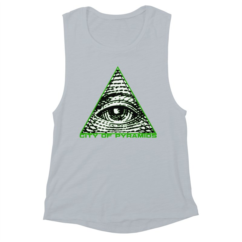 Eyeconic All Seeing Eye Women's Muscle Tank by City of Pyramids's Artist Shop