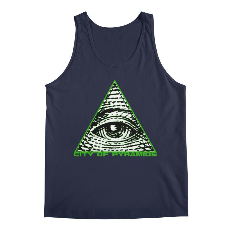 Eyeconic All Seeing Eye Men's Regular Tank by City of Pyramids's Artist Shop