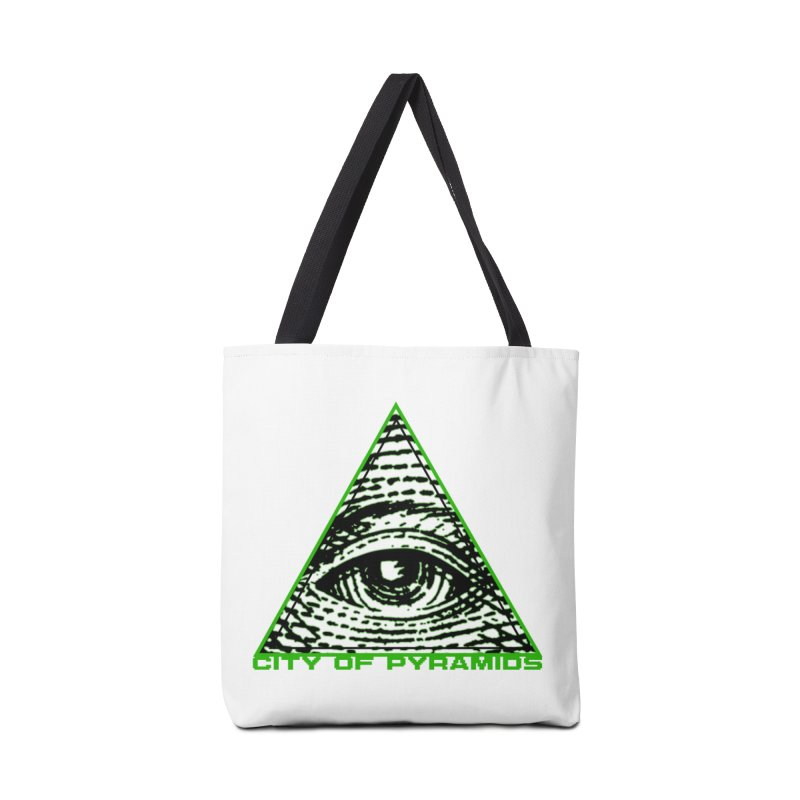 Eyeconic All Seeing Eye Accessories Tote Bag Bag by City of Pyramids's Artist Shop