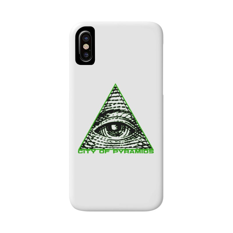 Eyeconic All Seeing Eye Accessories Phone Case by City of Pyramids's Artist Shop