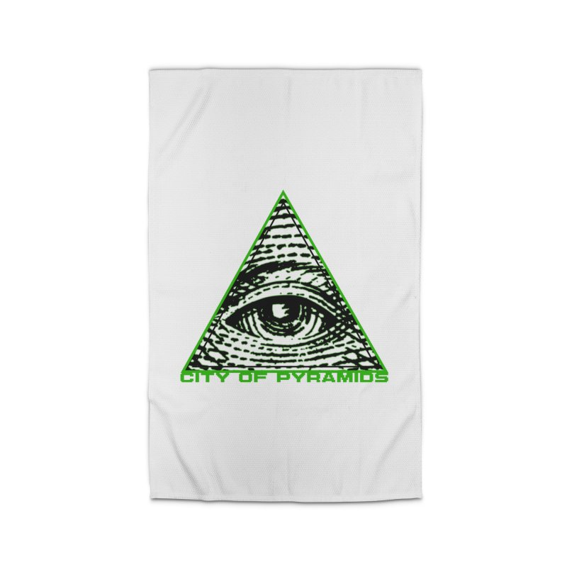 Eyeconic All Seeing Eye Home Rug by City of Pyramids's Artist Shop