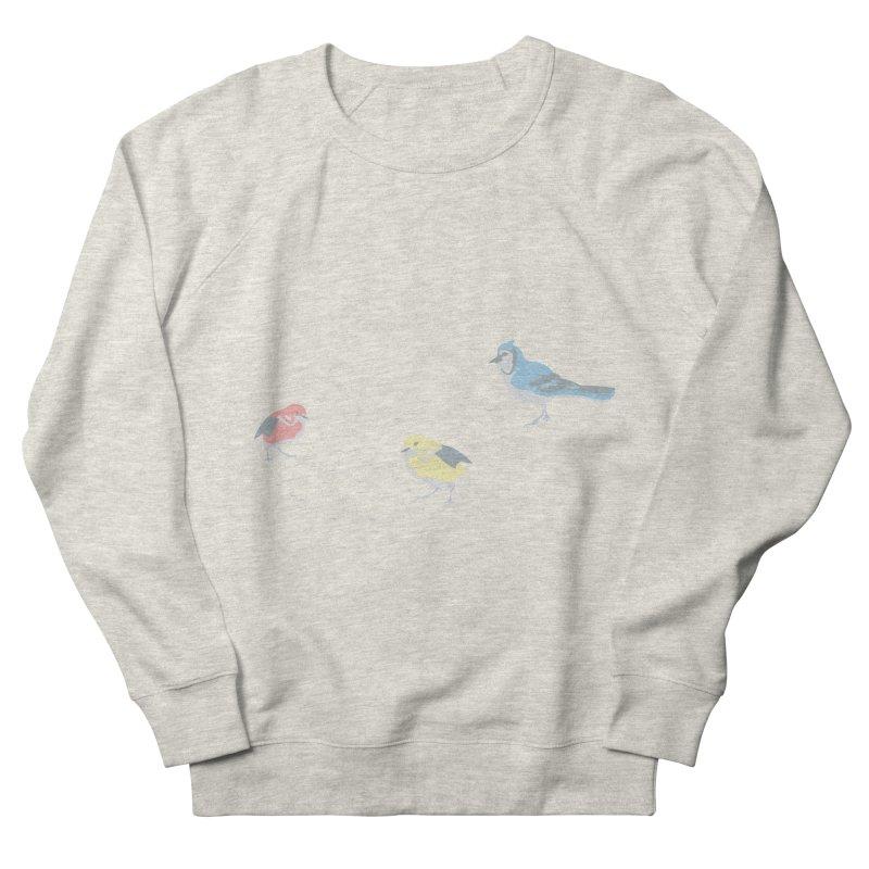 Little Birds (Primary Colors) Women's Sweatshirt by cityscapecreative's Artist Shop