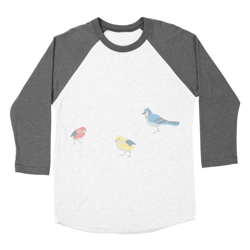 Little Birds (Primary Colors) Women's Longsleeve T-Shirt by cityscapecreative's Artist Shop