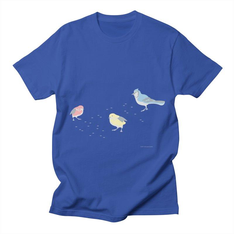Little Birds (Primary Colors) Men's T-Shirt by cityscapecreative's Artist Shop