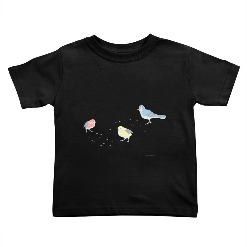 Little Birds (Primary Colors) Kids Toddler T-Shirt by cityscapecreative's Artist Shop