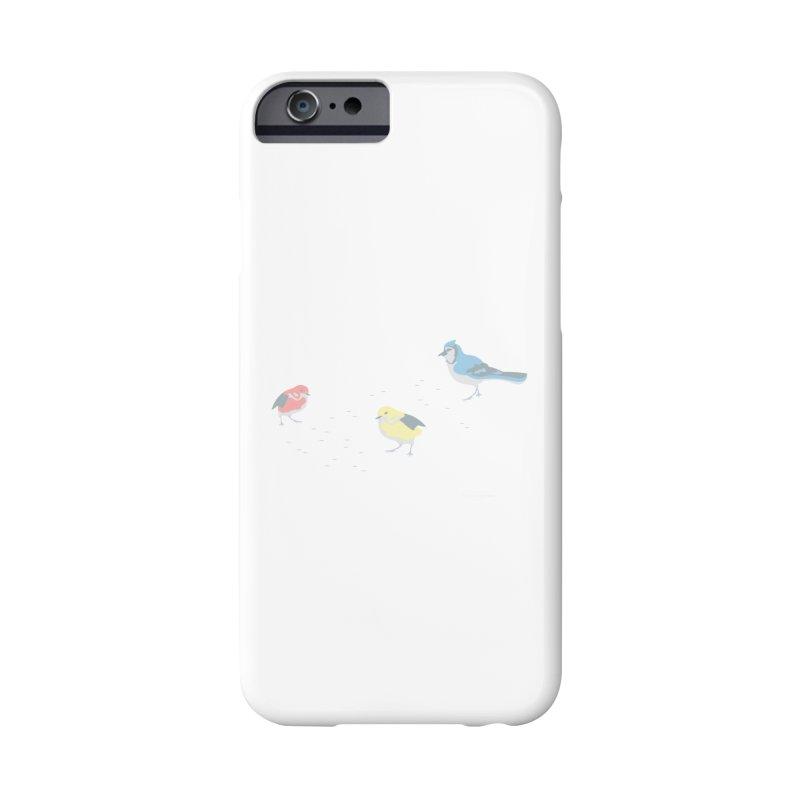 Little Birds (Primary Colors) Accessories Phone Case by cityscapecreative's Artist Shop