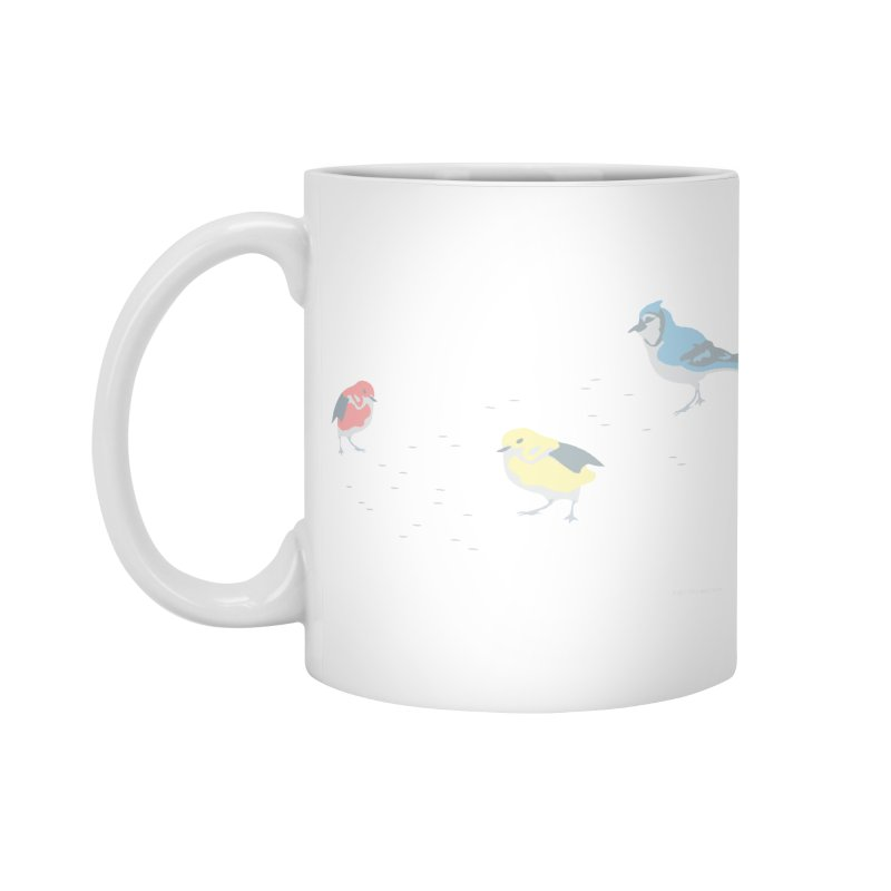 Little Birds (Primary Colors) Accessories Mug by cityscapecreative's Artist Shop