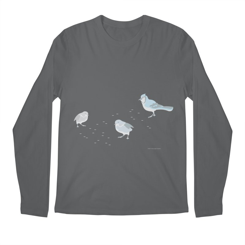 Little Birds (Muted Colors) Men's Longsleeve T-Shirt by cityscapecreative's Artist Shop
