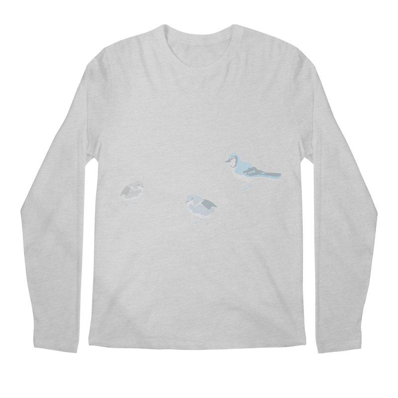 Little Birds (Muted Colors) Men's Regular Longsleeve T-Shirt by cityscapecreative's Artist Shop