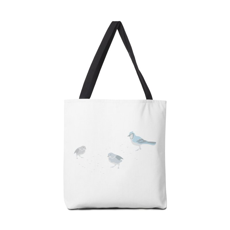 Little Birds (Muted Colors) Accessories Bag by cityscapecreative's Artist Shop