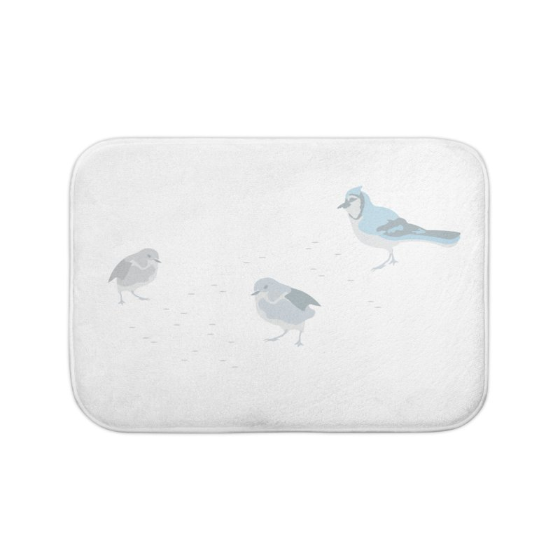 Little Birds (Muted Colors) Home Bath Mat by cityscapecreative's Artist Shop