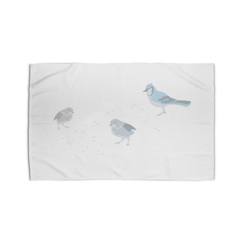 Little Birds (Muted Colors) Home Rug by cityscapecreative's Artist Shop