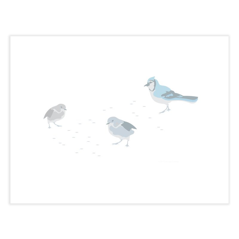 Little Birds (Muted Colors) Home Fine Art Print by cityscapecreative's Artist Shop