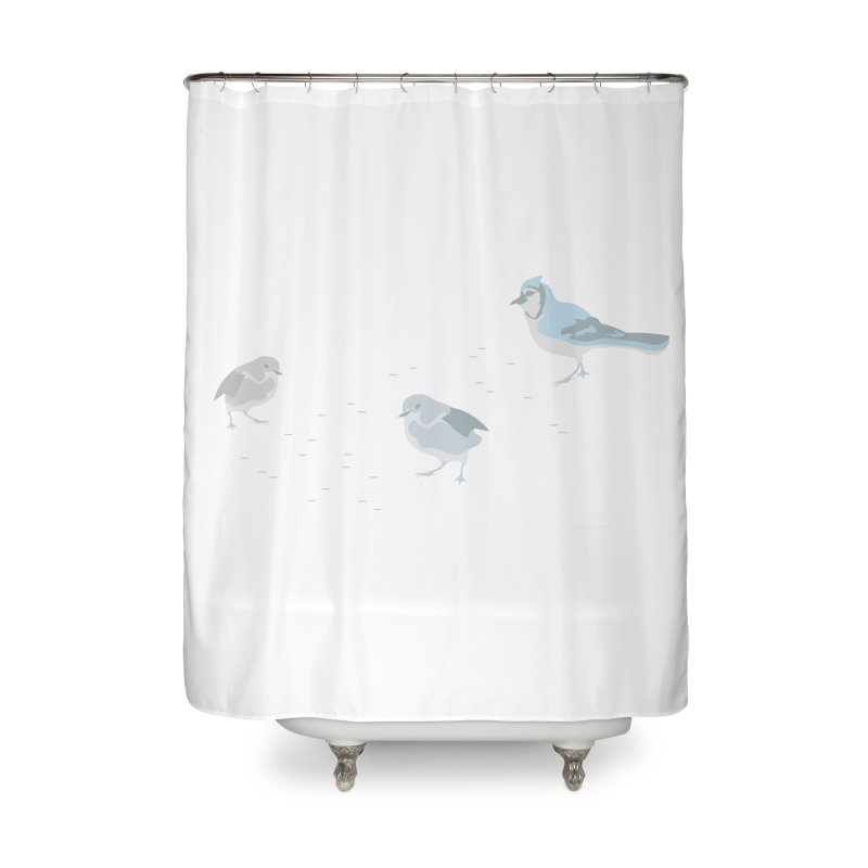 Little Birds (Muted Colors) Home Shower Curtain by cityscapecreative's Artist Shop