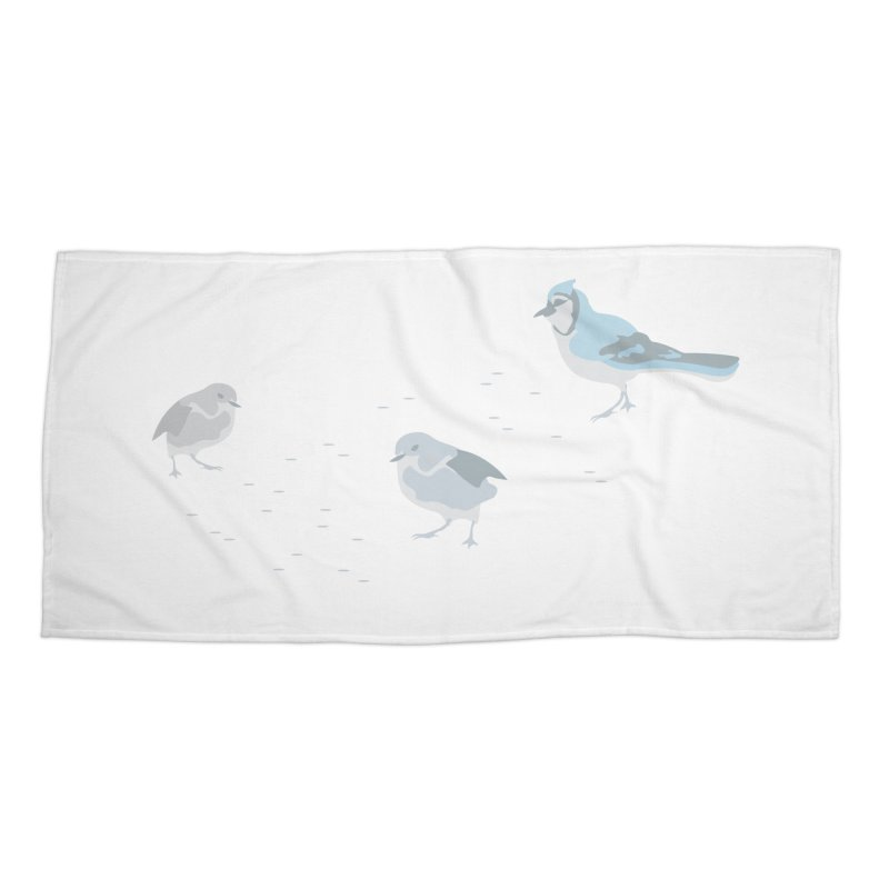 Little Birds (Muted Colors) Accessories Beach Towel by cityscapecreative's Artist Shop