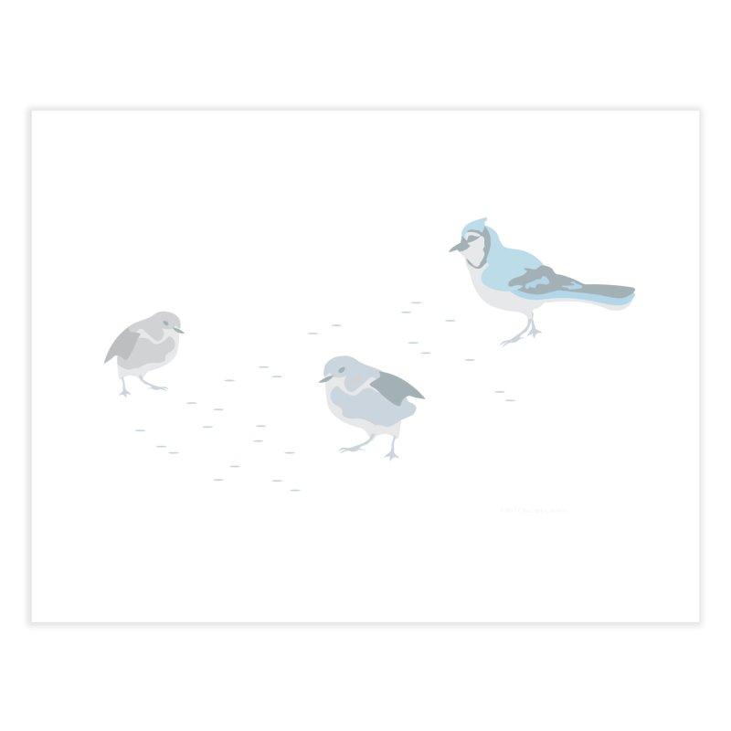 Little Birds (Muted Colors) Home Fine Art Print by cityscapecreative's Artist Shop