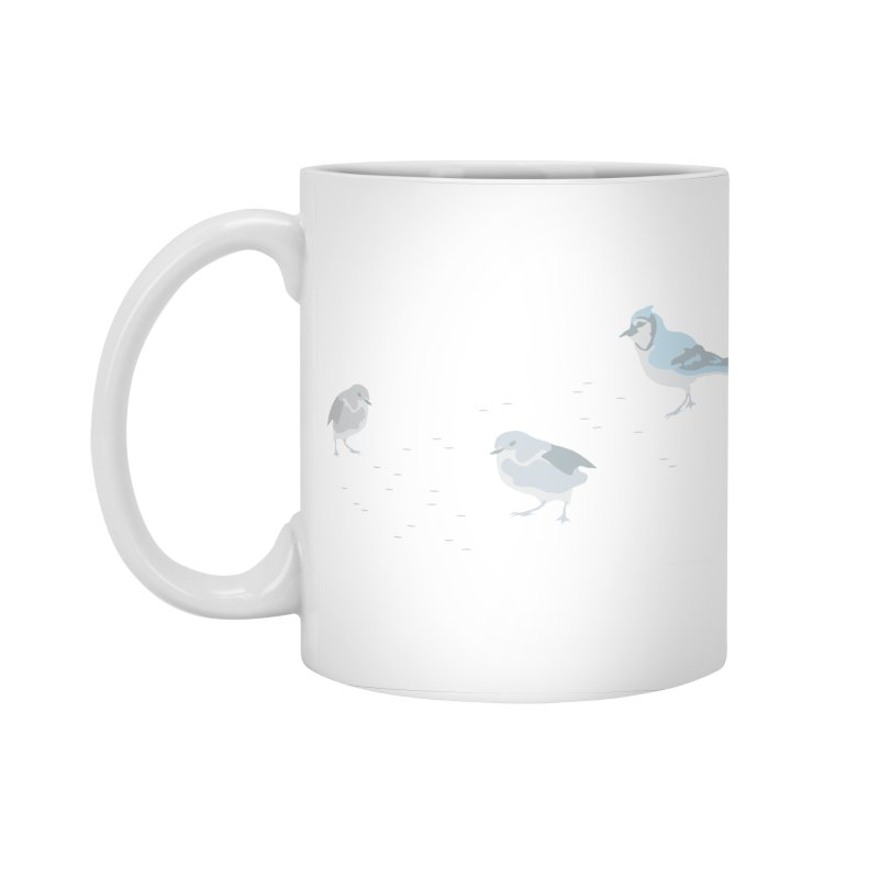 Little Birds (Muted Colors) Accessories Standard Mug by cityscapecreative's Artist Shop