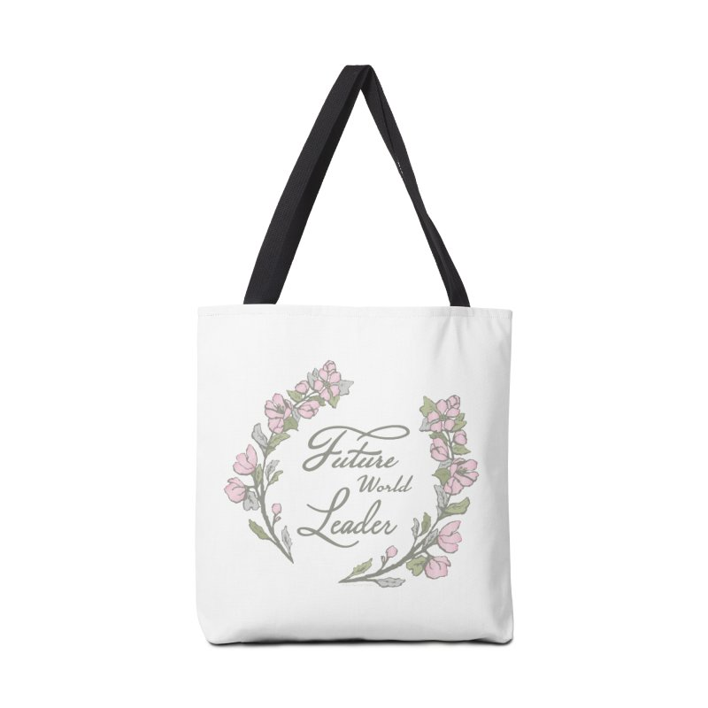 Future World Leader (Color) Accessories Bag by cityscapecreative's Artist Shop