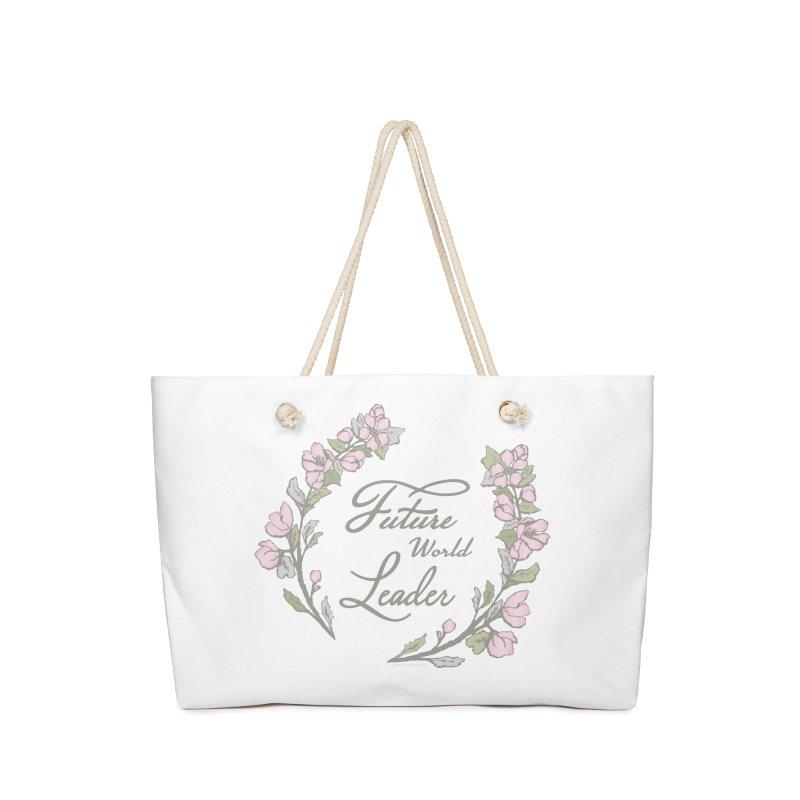 Future World Leader (Color) Accessories Bag by cityscapecreative's Artist Shop