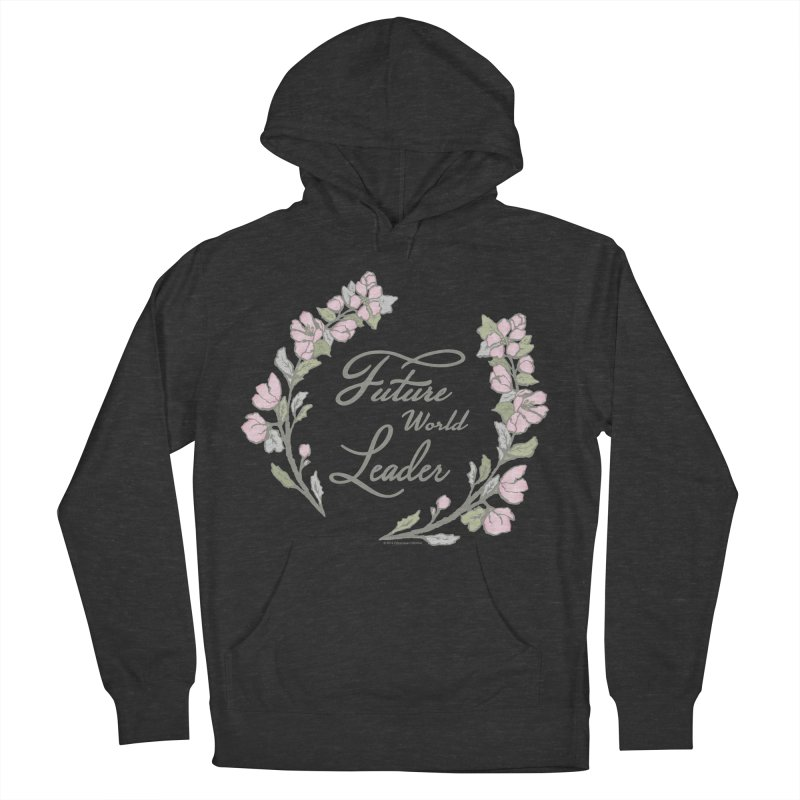 Future World Leader (Color) Women's Pullover Hoody by cityscapecreative's Artist Shop
