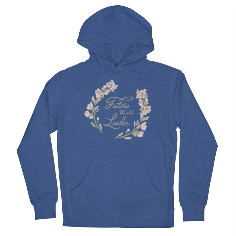 Future World Leader (Color) Men's Pullover Hoody by cityscapecreative's Artist Shop