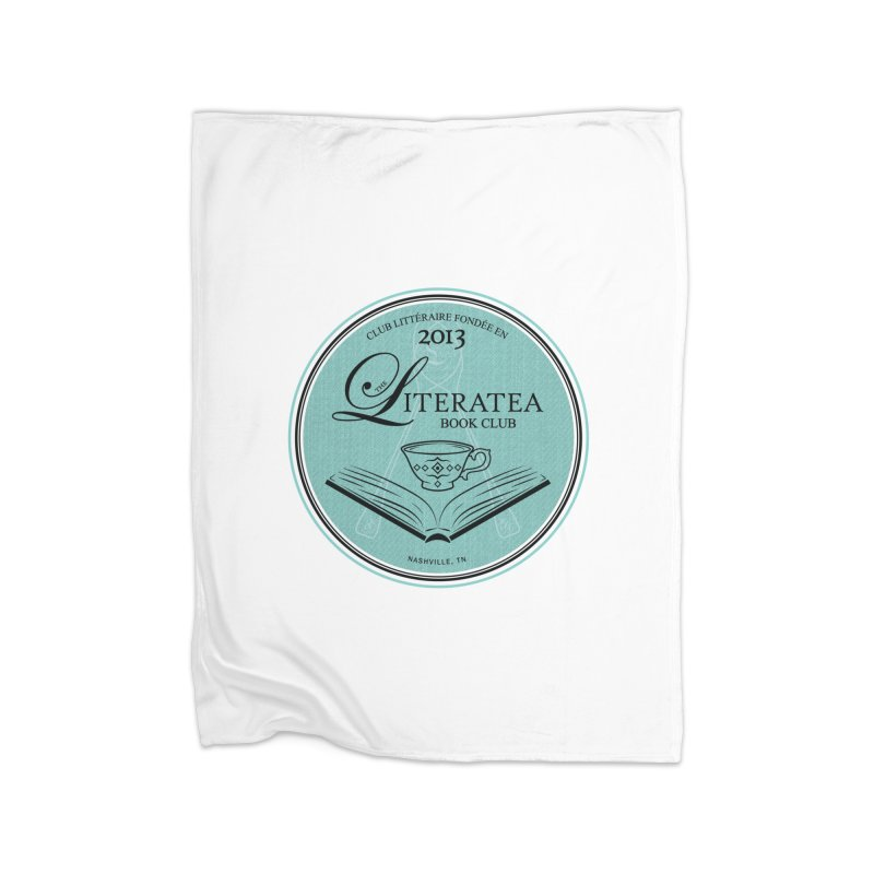 The Literatea Book Club Home Blanket by cityscapecreative's Artist Shop
