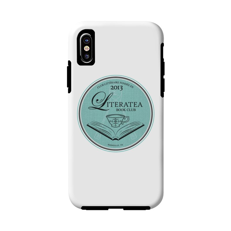 The Literatea Book Club Accessories Phone Case by cityscapecreative's Artist Shop