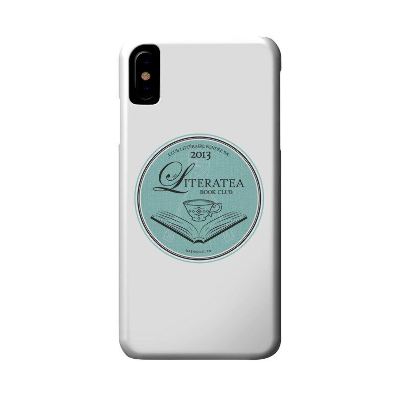 The Literatea Book Club Accessories Phone Case by cityscapecreative's Artist Shop