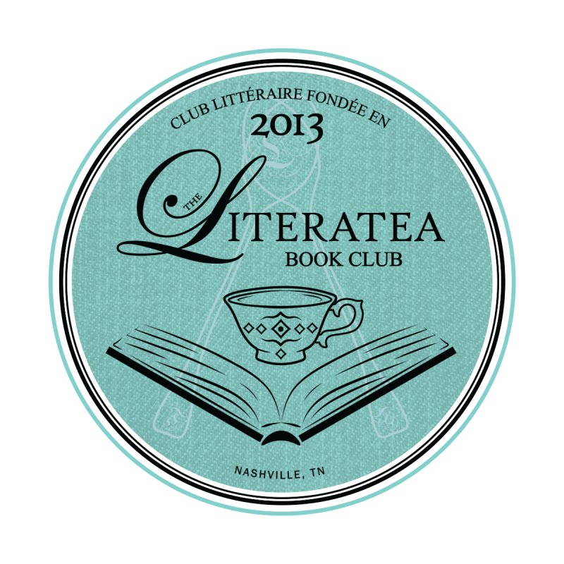 The Literatea Book Club Accessories Zip Pouch by cityscapecreative's Artist Shop